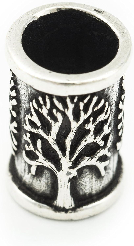 20 Metallperlen antik silber Ø 3 mm-Armband herstellen wikinger Bartperle