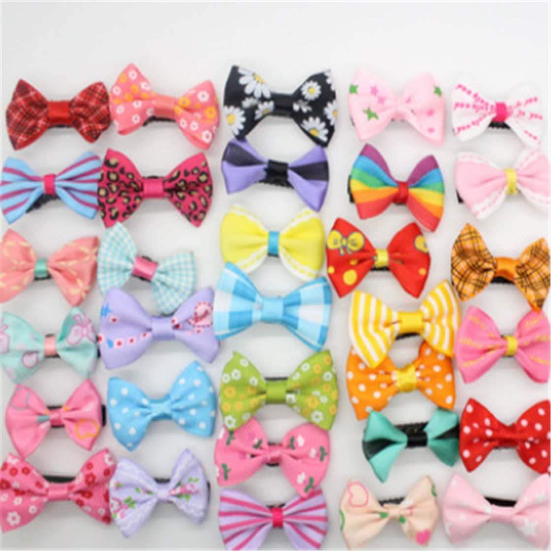 50pcs Colorful Hair Bows $3.53...