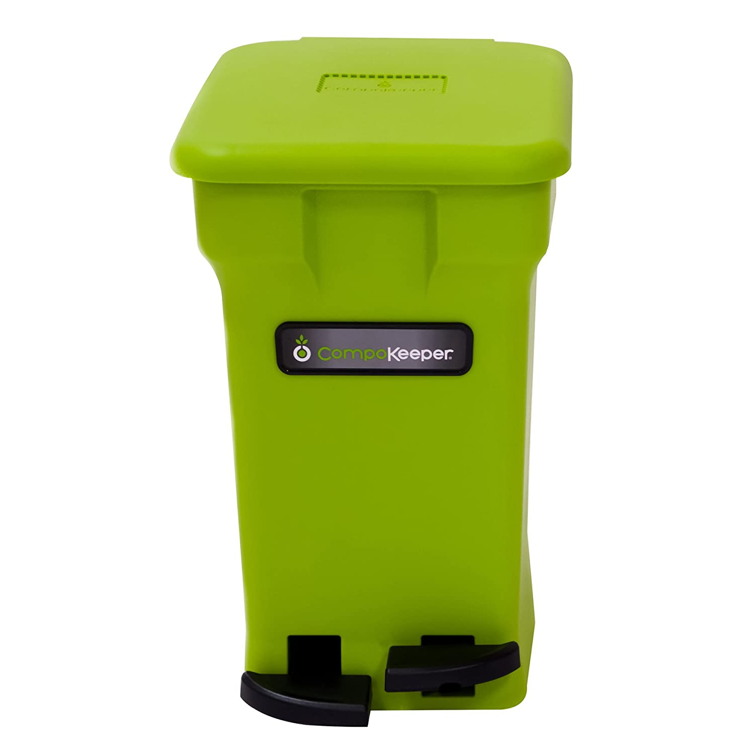 Amazon.com: CompoKeeper Kitchen Compost Bin, Green, 6 Gallon: Kitchen U0026  Dining