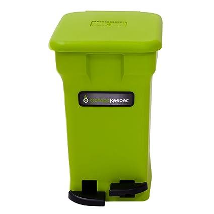 CompoKeeper Kitchen Compost Bin, Green, 6 Gallon