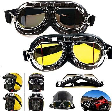 Focussexy Mad Max Steampunk al viento gafas de disfraz: Amazon.es ...