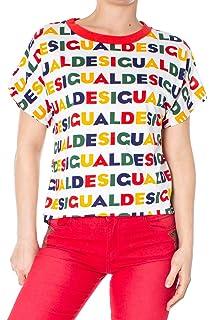 Multicolor Shirt 19swtk05 Ts Desigual T Femme Cocktel M Nvm8n0w