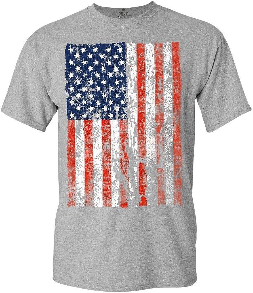 shop4ever Camiseta Camisas de Bandera de Estados Unidos de Bandera de Estados Unidos de América: Amazon.es: Ropa y accesorios