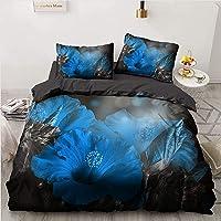 CXYXHW - Juego de cama de 3 piezas de microfibra, funda nórdica con fundas de almohada, para niños, niñas y adolescentes…