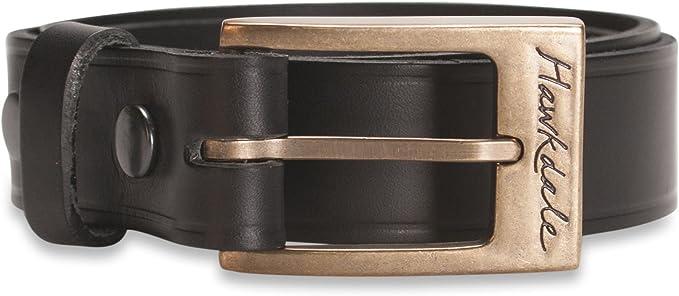 Milano 40mm Heavy Brass Leather UK Handmade Jeans Wear Belt Made In England