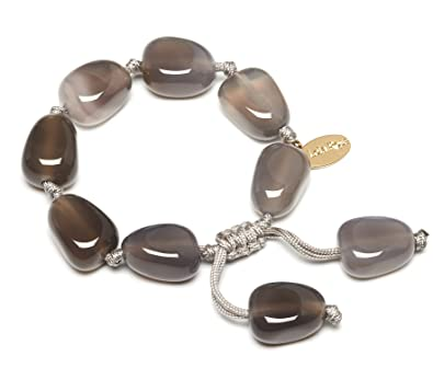 slake deluxe jewelry dp bracelet grey amazon swarovski com