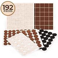 192 almohadillas de fieltro para muebles con adhesivo