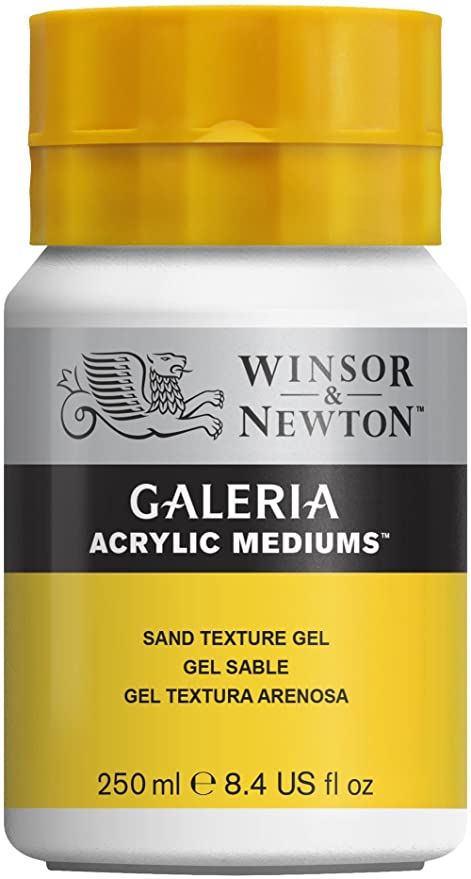 Winsor & Newton Galeria Acrylic Medium Sand Texture Gel, 250ml