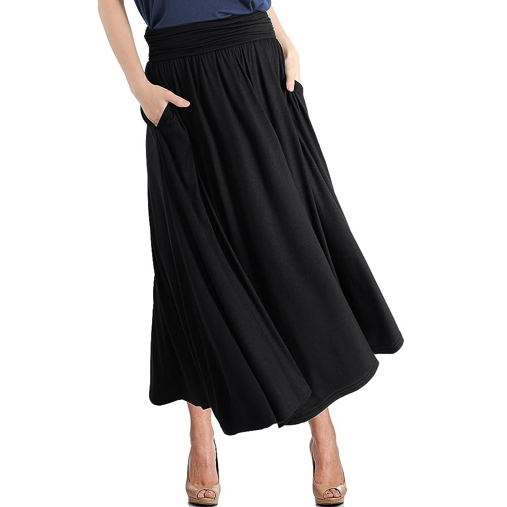6162c9661a PrevNext. TRENDY UNITED Women's High Waist Fold Over Pocket Shirring Skirt
