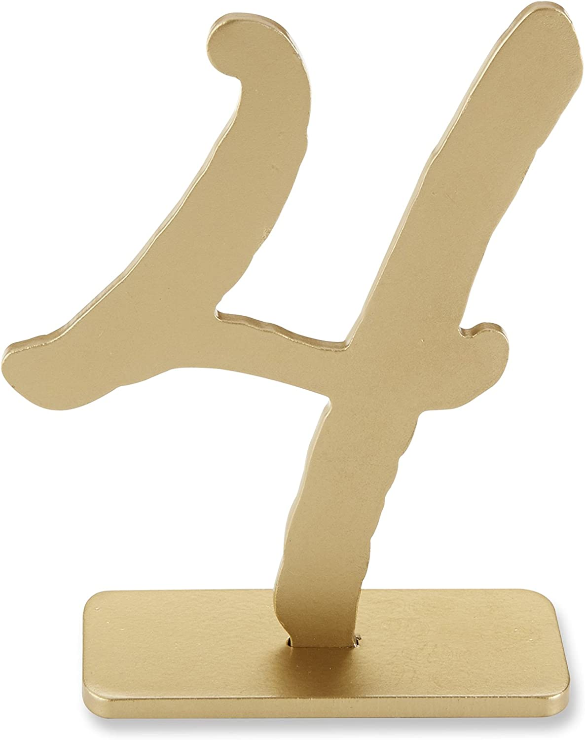 Numbers 1-6 Inc Good as Gold Collection Classic Gold Table Numbers 18094SM Kate Aspen