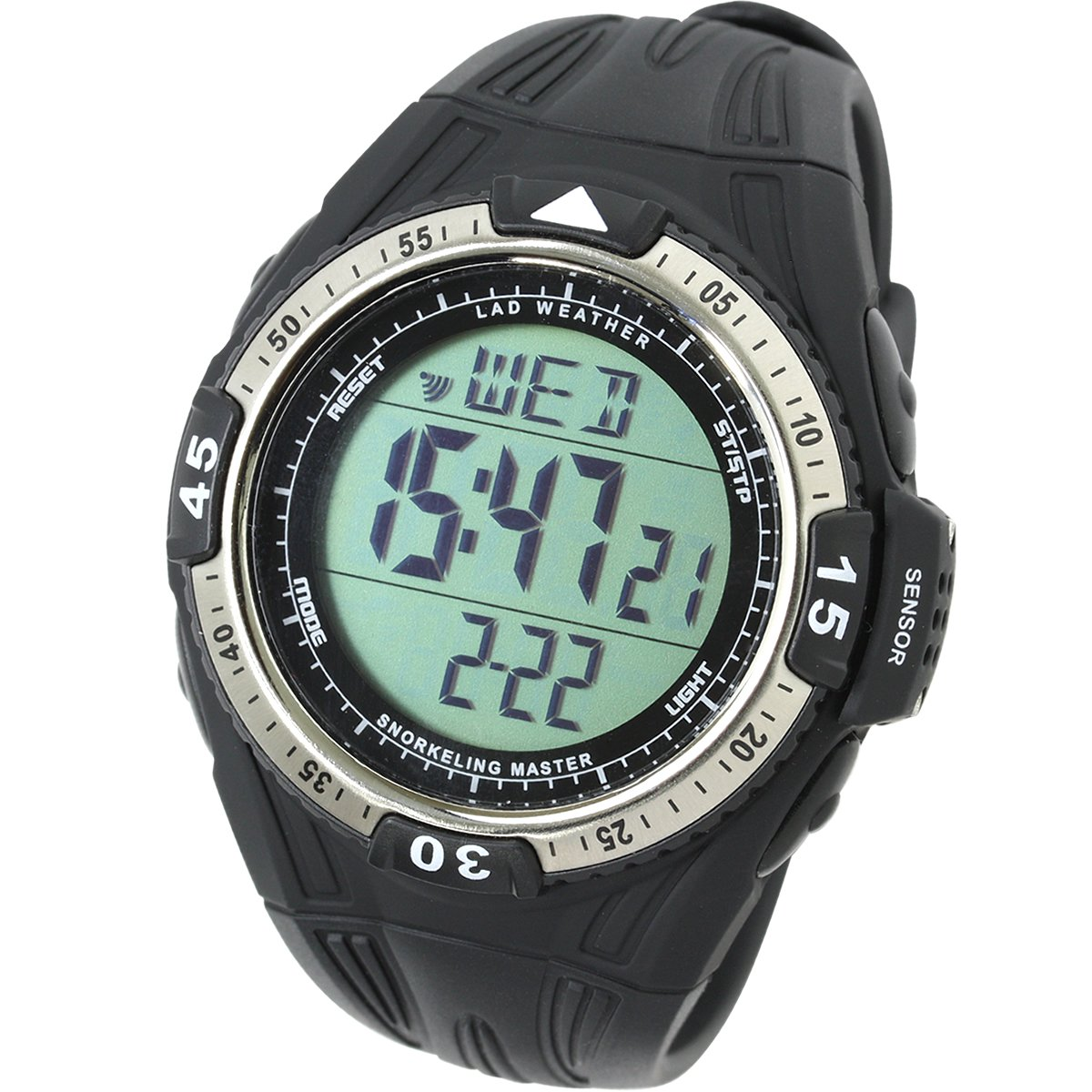 Lad Weather Water Depth Temperature Measure Watch Snorkeling Sport Diving Watches by LAD WEATHER