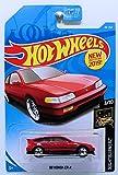 Hot Wheels 2019 Nightburnerz '88 Honda CR-X 49/250, Red