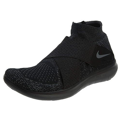 ea02074ca928 Nike Men s Free RN Motion Flyknit 2017 Running Shoe Black  Amazon.in  Shoes    Handbags