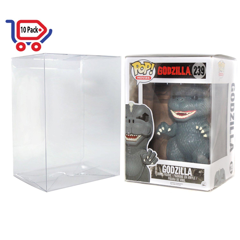 10 Funko Pop Protector Case 6 Inch Plastic Figure Display Assortmart