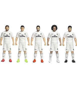 Pack Jugadores Y Juegos Real Madrid fAmazon C Sockers 5 esJuguetes droCxBe