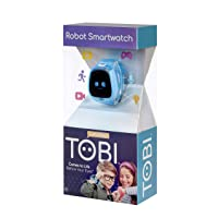 Little Tikes Tobi Robot Smartwatch for Kids with Cameras, Video, Games, and Activities – Blue, Multicolor