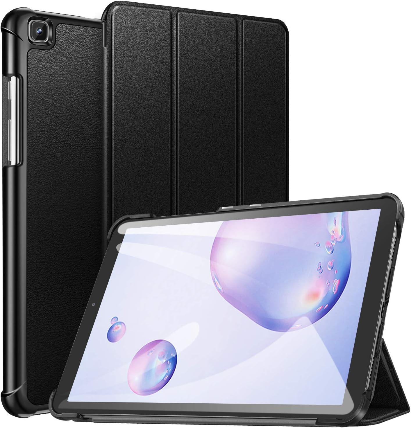 ZtotopCase Coque rigide ultra fine et légère pour Samsung Galaxy Tab A 8.4 2020 avec support à trois volets pour tablette SM-T307 Samsung Tab A 8,4