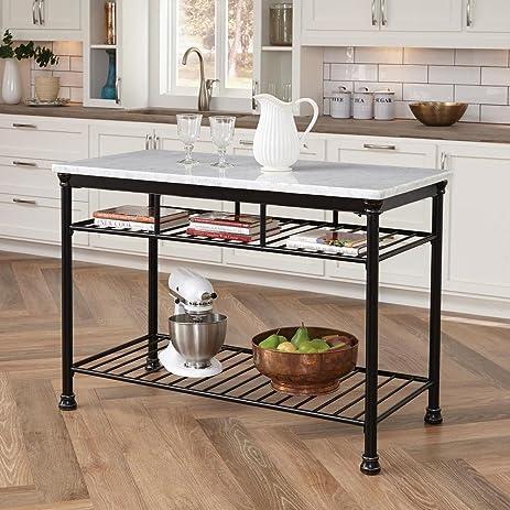 Home Styles Baton Rouge Kitchen Island - Amazon.com - Home Styles Baton Rouge Kitchen Island - Kitchen