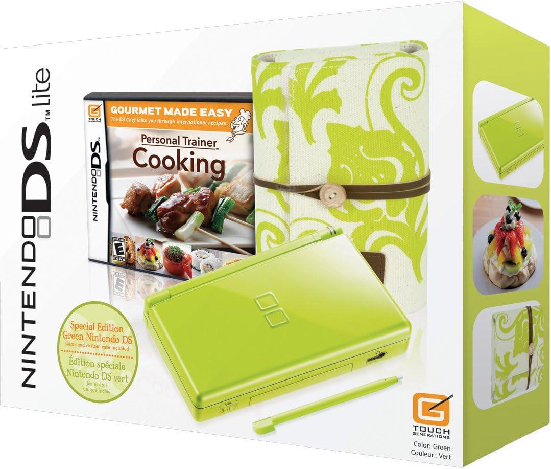 Amazon.com: Nintendo DS Lite Green Spring Bundle w/Personal ...