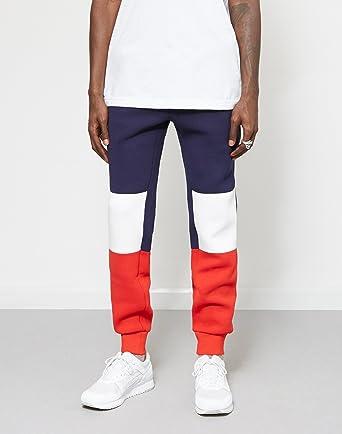 b91f5f8173147 Fila Men Pants/Sweat Pant Black Line Jude Blue XL: Amazon.co.uk: Clothing