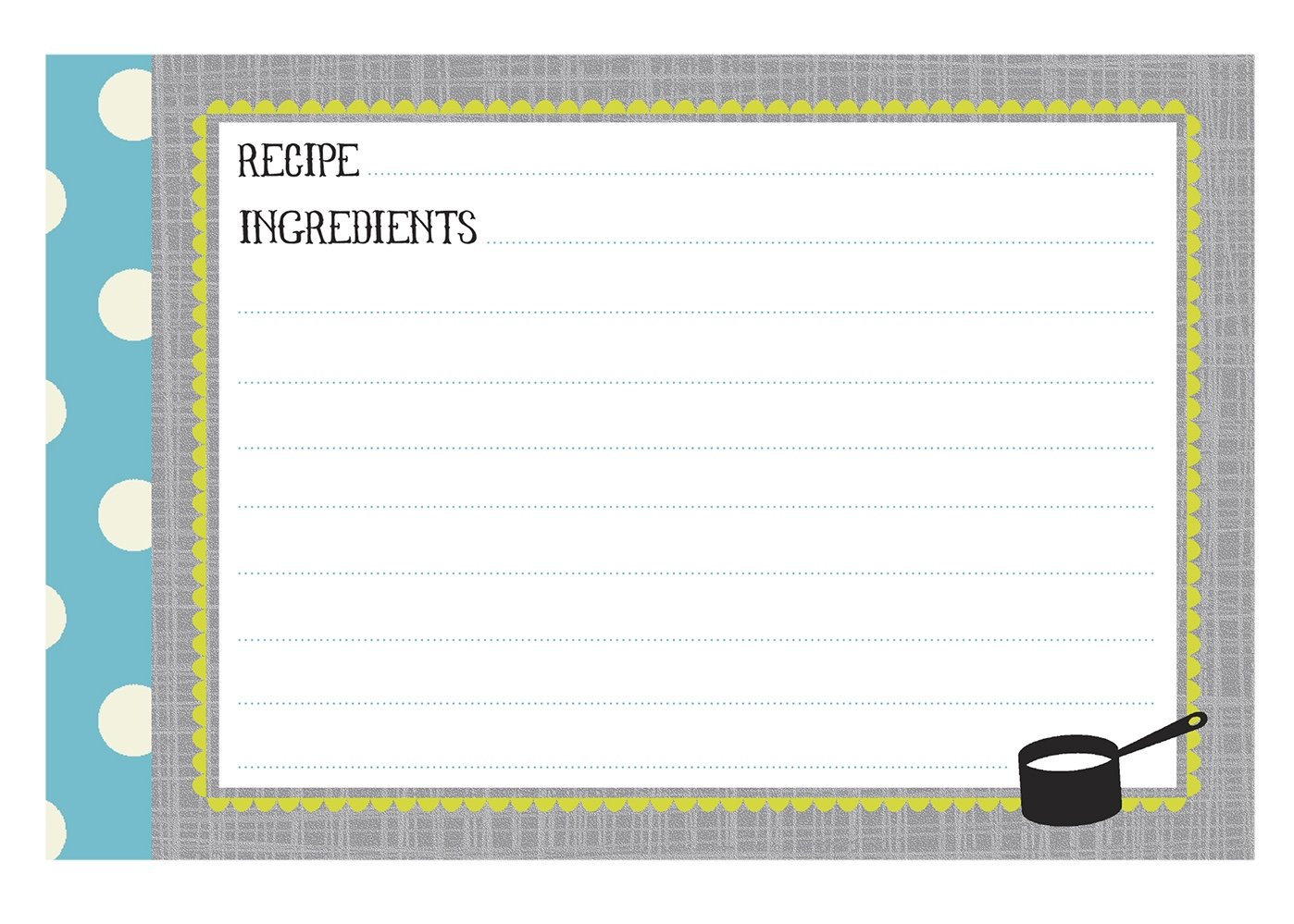 CRG Q12-14120 Kitchen Gear 40-Count Recipe Cards, 4 by 6-Inch, Multicolor C.R. Gibson