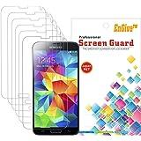 6 x EnGive Displayschutzfolie Samsung Galaxy S5 Mini Schutzfolie Folie Displayschutz (Galaxy S5 Mini im 6er Set)
