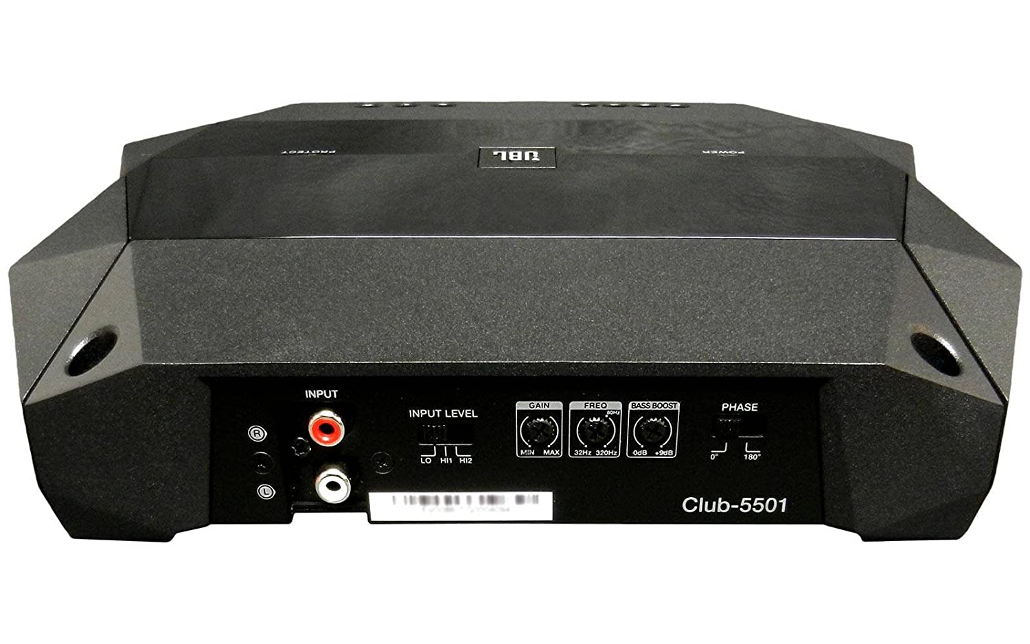 Amazon.com: JBL CLUB-5501 Monoblock Amplifier 1300W Peak (650W RMS) Club Series Class D Monoblock Amplifier: Car Electronics