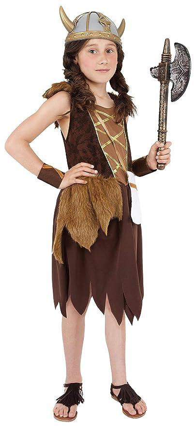 Smiffys - Disfraz de Vikingo para Mujer, Talla L (38650L)