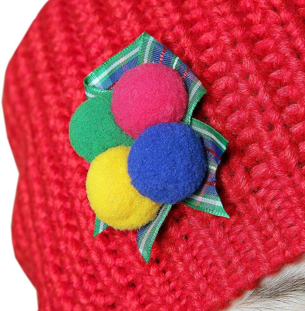 Winter Children Knitted Hat Keep Warm Woolen Hats