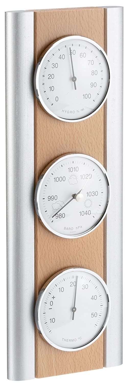 TFA 20.1053.17 Weather Station Beech Natural/Silver TFA Dostmann GmbH & Co.KG