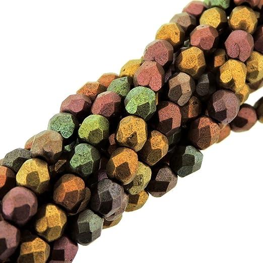 20 x metal perlas rondell bronce 8mm
