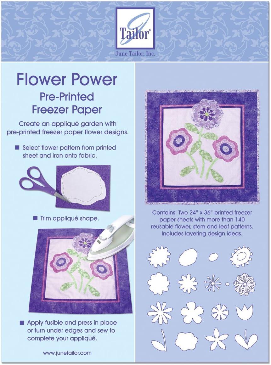 June Tailor diseño de flores congelador papel: Amazon.es: Hogar
