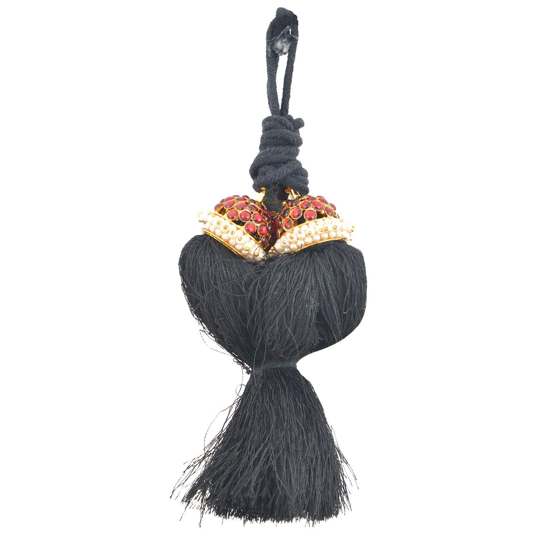 Khushi Purchase Women's Bk Red Kunjalam Long Black