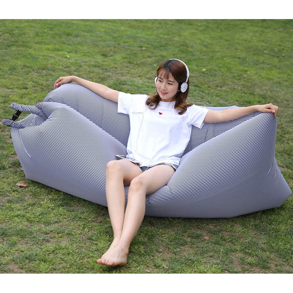 Amazon.com: ZTMN Lazy Inflatable Lounger,Anti-Air Leaking ...