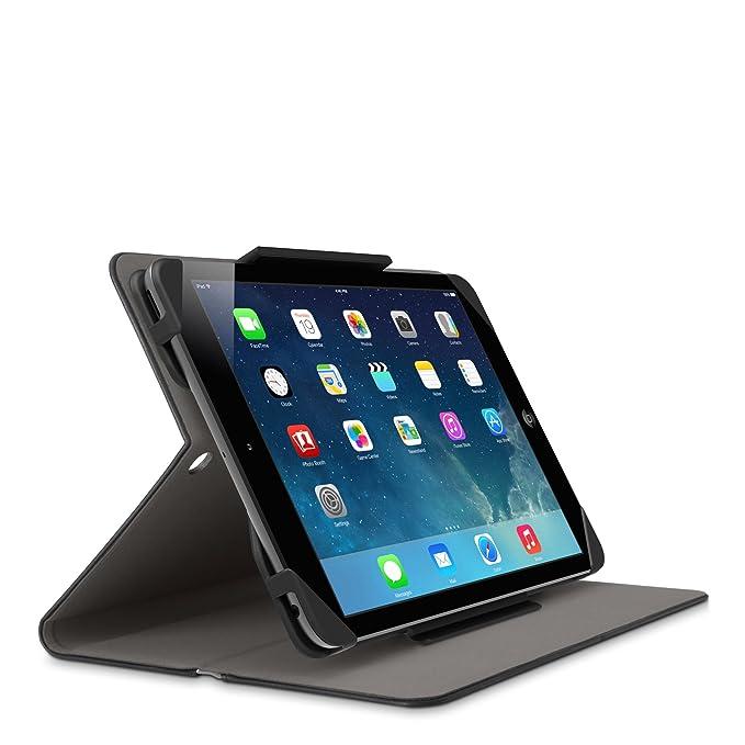 Belkin F7N248B1C00 Stripe Estuche /cubierta para iPad mini 3, iPad mini 2 y iPad mini, negro