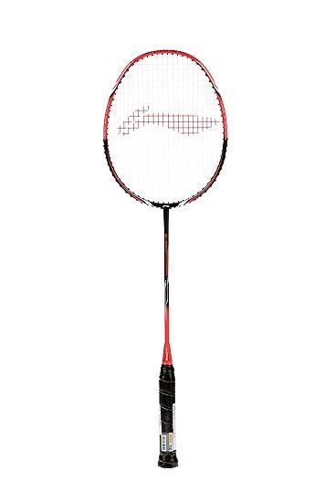 Li-Ning G-Force Pro 2800i Graphite Badminton Raquets (Black, Pink) Badminton Racquets at amazon