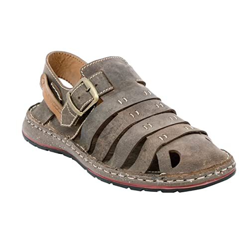 db5ef00b6ace2d Maplewood Saber Brown Sandals (10)  Buy Online at Low Prices in ...