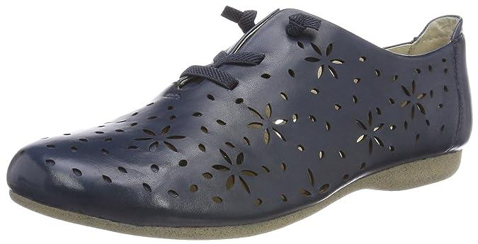 Josef Seibel Fiona 27, Zapatos de Cordones Derby para Mujer, Azul (Ocean 530), 40 EU