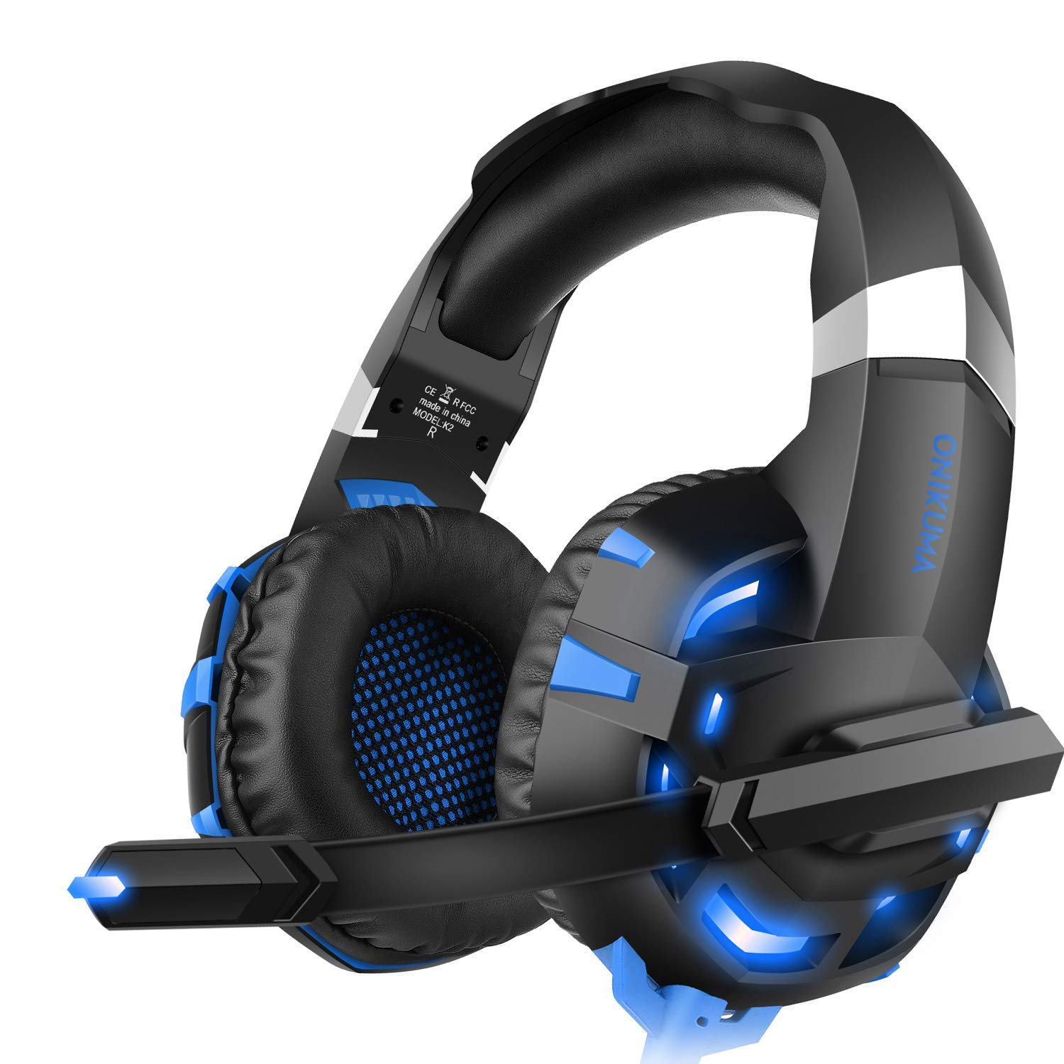 WILLNORN Gaming Headset with Mic for Xbox One, PS4, Smart Phone, Laptops,Nintendo Switch, Noise Reduction Game Earphone