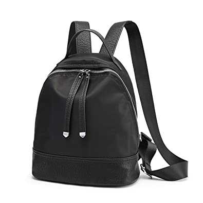 550a982088 Amazon.com  Giles Abbot Women S Backpacks Oxford Female School Bags Teenage  Girls College Student Casual Bag Travel Mochila Black  Shoes