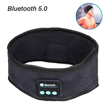 Zwini Bluetooth Headband Música inalámbrica Diadema Deportiva ...