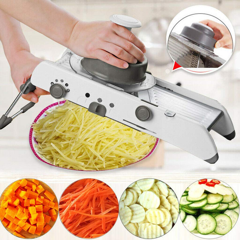 Nesee 18 in 1 Multi-Function Cutter Easy Food Chopper Vegetable Food Onion Cucumber Slicer Dicer Chopper Home Heavy Duty Tool by Nesee