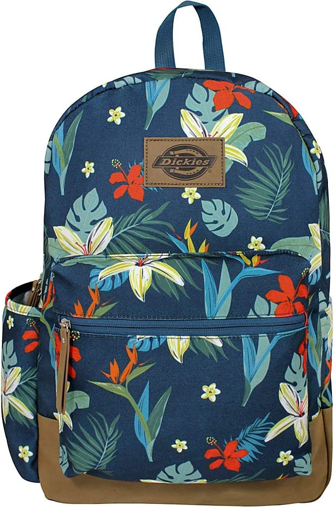Dickies Colton Poly Canvas Laptop Backpack (Tropical Remix)