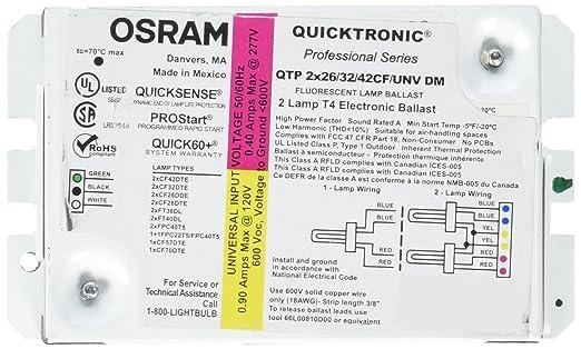 20 Elegant Osram Quicktronic Ballast Wiring Diagram