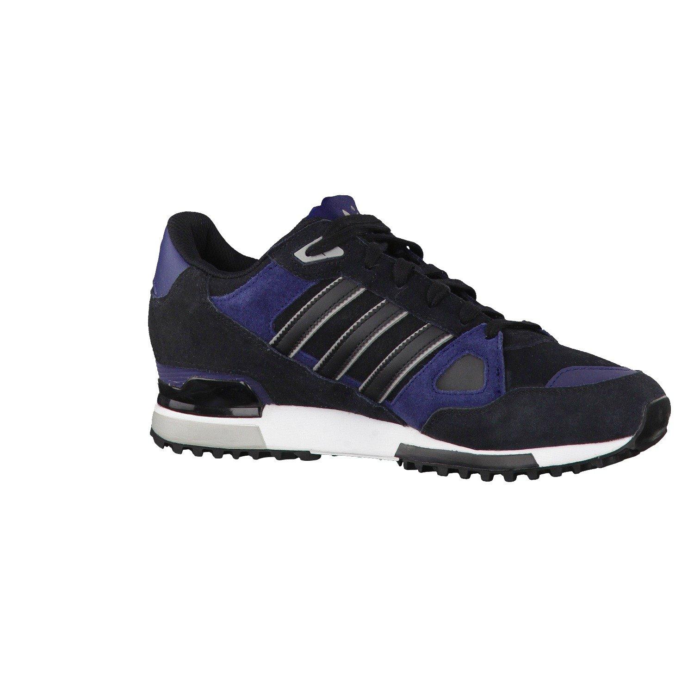 a00741324 ... Amazon.co.uk  Shoes   Adidas - ZX 750 - Color  Black-Navy blue - Size   12.5 UK ...
