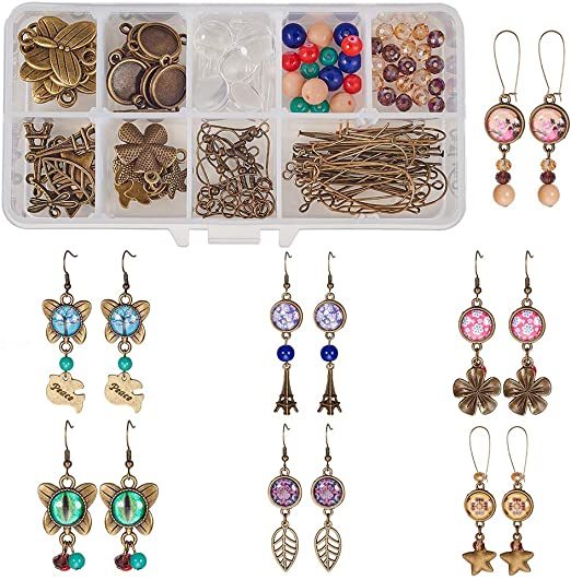 10pcs Charm French Earring Hooks Wire Setting Base Jewelry Making Accessories