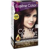 Eugène Color - Les Raffinées - N°17 Marron Cacao - Crème Colorante Permanente - Lot de 2