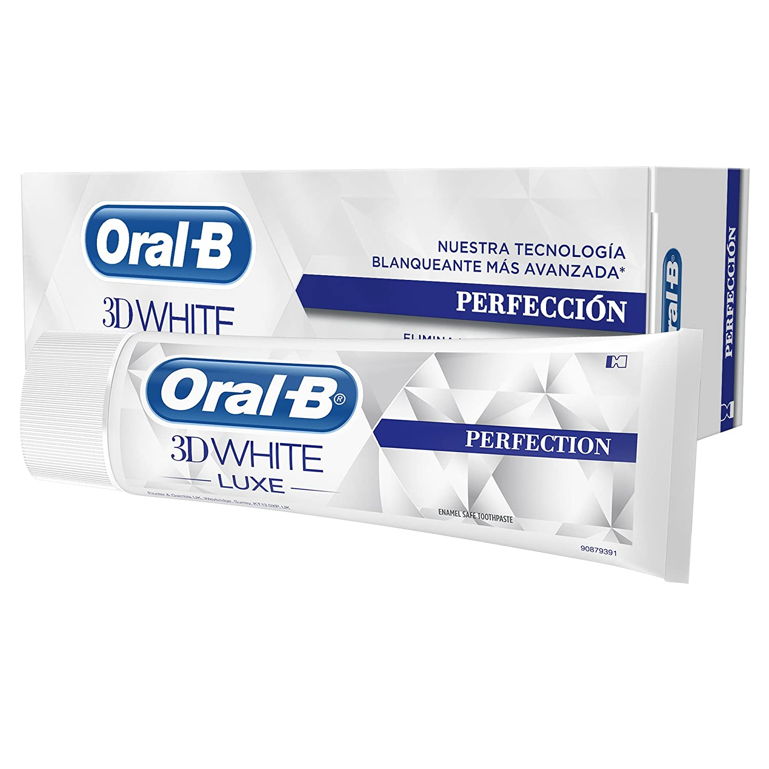 Oral-B 3D White Luxe Perfection Toothpaste, 75 ml (Packaging may vary)
