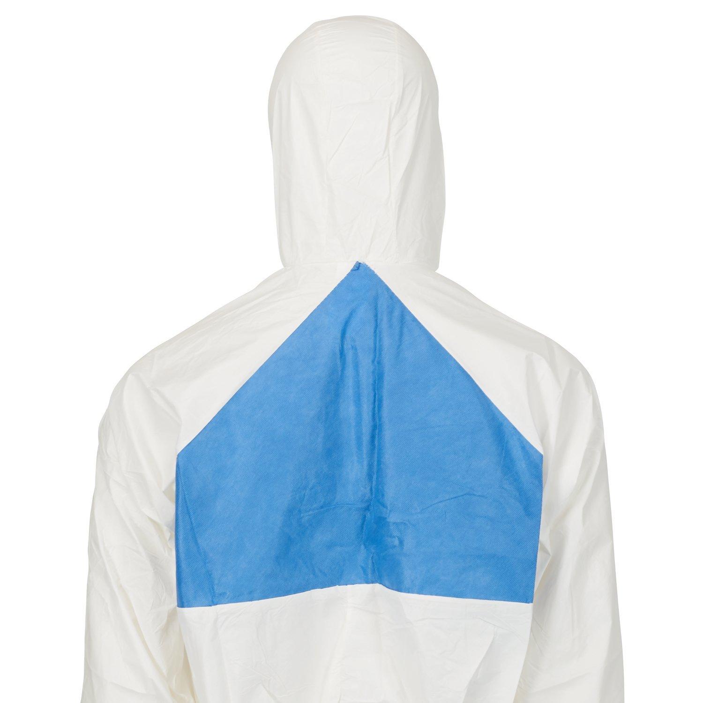 3M Schutzanzug 4540+L, Typ 5/6 Größe L, weiß/blau Typ 5/6 Größe L weiß/blau GT700000935