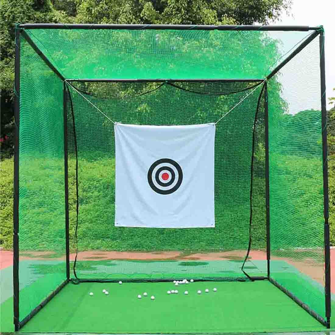 Heavy Duty Golf Hitting Net Cage by HMX,Allows High Velocity Strong Impact